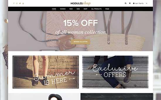 Modules Shop