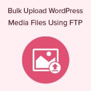 How to Bulk Upload WordPress Media Files using FTP