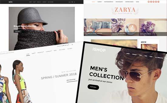 Fashion blog design examples