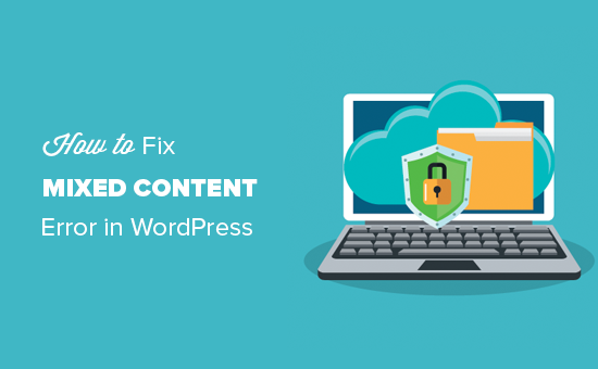 How to fix the mixed content error in WordPress