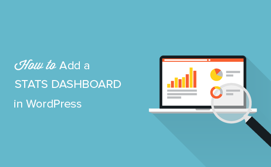 How to add a stats dashboard in WordPress