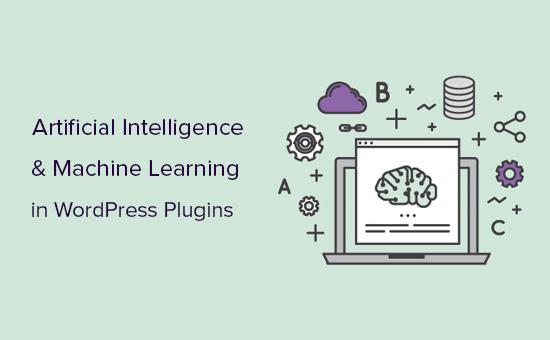 WordPress plugins using artificial intelligence and machine learning