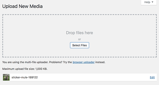 File uploaded successfully