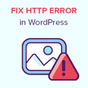 How to Fix the HTTP Image Upload Error in WordPress