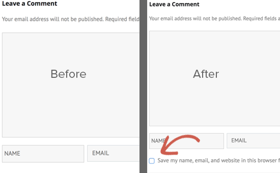 Privacy checkbox in a custom WordPress comment form