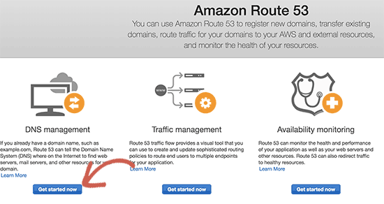 Get started with DNS management