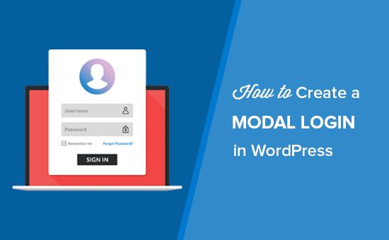 How to Create a Modal Login in WordPress