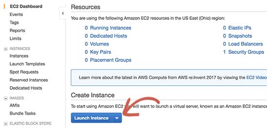 Launch your EC2 instance