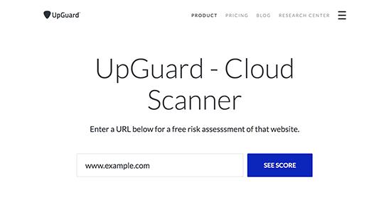 UpGuard Cloud Scanner