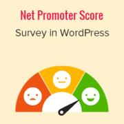 How to Create a Net Promoter Score® (NPS) Survey in WordPress
