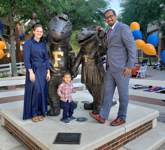 Outstanding Young Alumnus Award at University of Florida - Syed Balkhi