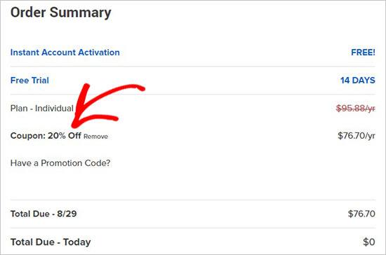 Apply StartBooking coupon