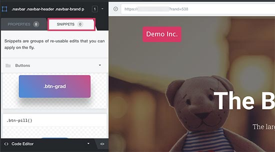 CSS hero ready-made snippets
