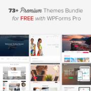 Get 73 Premium WordPress Themes for Free with WPForms Bundle