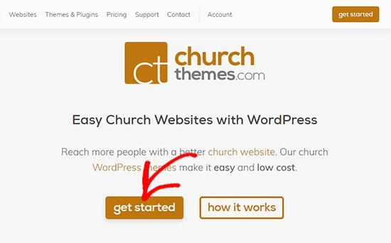 ChurchThemes website