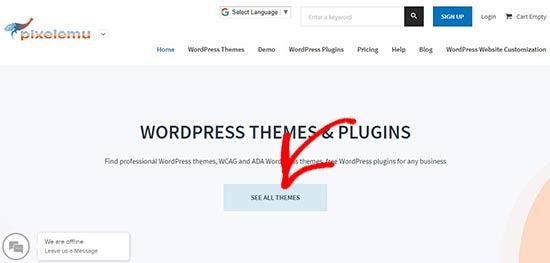 Pixelemu website