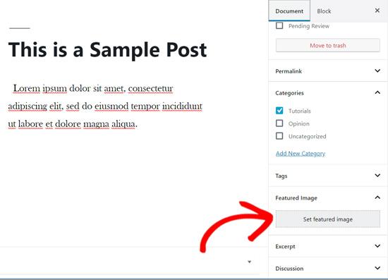 Featured image meta box in WordPress