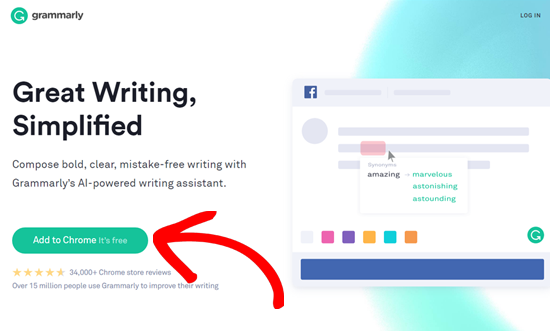 Add Grammarly Browser Extension to Chrome