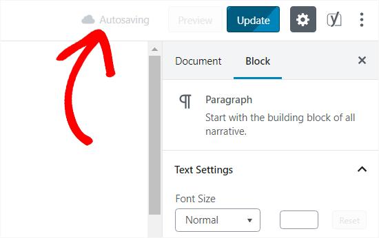 Autosave Posts in WordPress