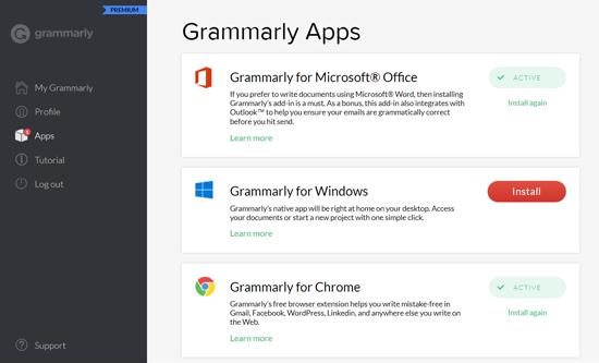 Grammarly Apps