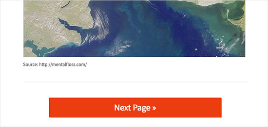Split long posts in pages