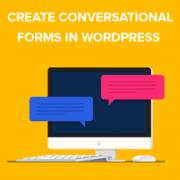 How to Create Conversational Forms in WordPress (Typeform Alternative)