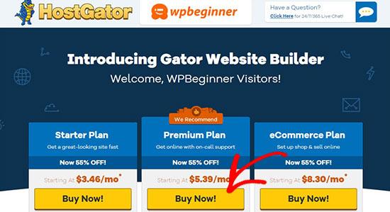 Gator Builder Site