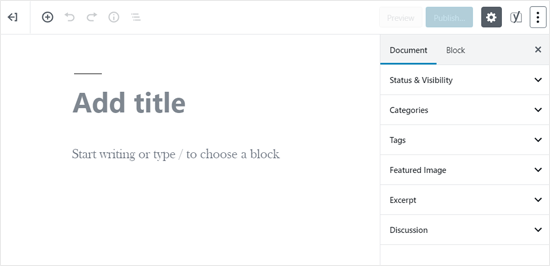 WordPress Editor when Fullscreen Mode Enabled