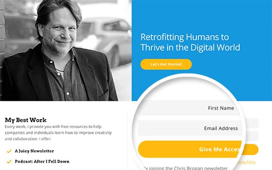 Chris Brogan newsletter