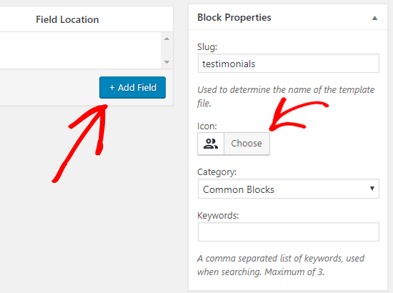 Custom Block Properties