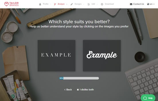 Choosing your preferred font styles