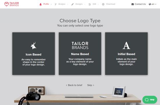 Choosing your logo type