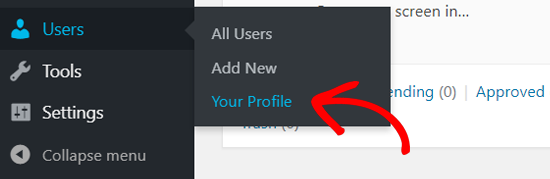 Your Profile Page in WordPress