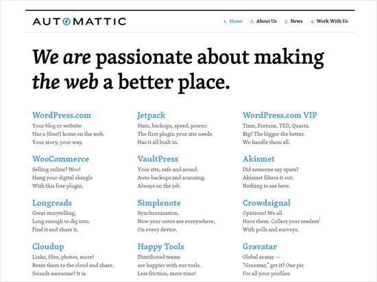 Automattic Most Successful WordPress Company