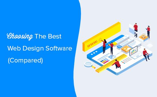 Choosing the best web design software
