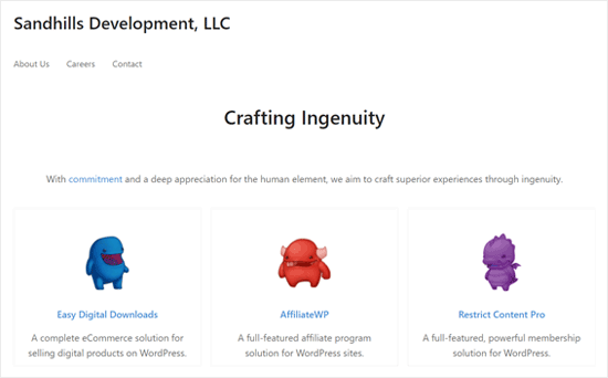 Sandills Development - Successful WordPress eCommerce Business
