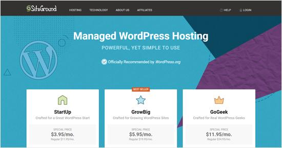 SiteGround - WordPress and WooCommerce Hosting Company