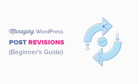 Managing the WordPress post revisions