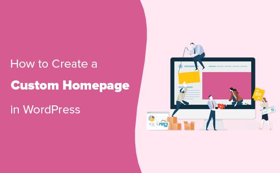 Creating a custom homepage in WordPress