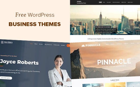 25 Best Free Wordpress Business Themes Of 2021