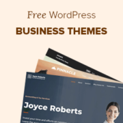 25 Best Free WordPress Business Themes