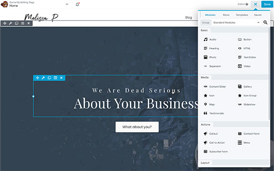 how to add contact in wordpress