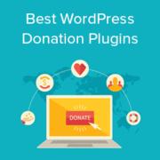 12 Best WordPress Donation and Fundraising Plugins (2021)