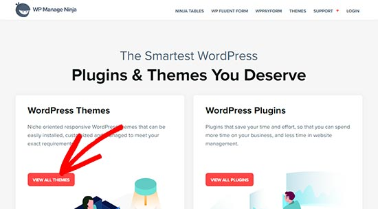 WP Manage Ninja themes and plugins