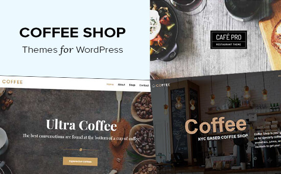 Best coffee shop themes for WordPress