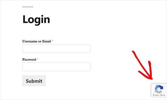 Custom WordPress Login Form With reCAPTCHA