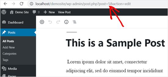 menu order posts wordpress