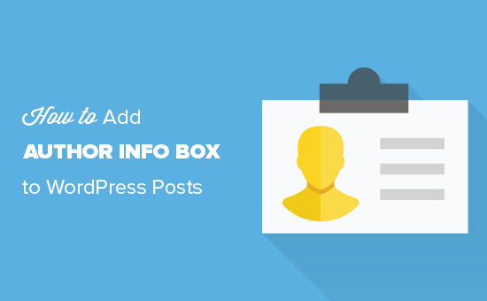 Easily add an author info section to WordPress posts