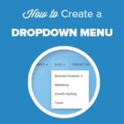 How to Create a Dropdown Menu in WordPress (Beginners Guide)