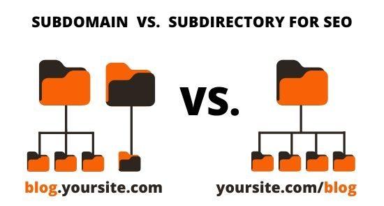 Subdomain vs subdirectory for SEO